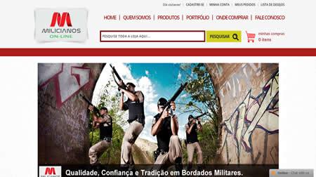 milicianos bordados -trilogia consultoria